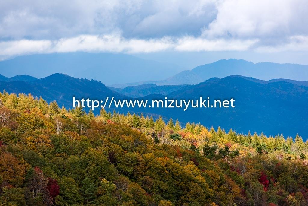 吾妻八景 白樺の峰